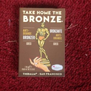 theBalm bronzer in Greg